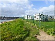 X1978 : Caravan park at Ardmore Bay by Oliver Dixon