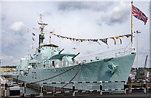 TQ7569 : HMS Cavalier - September 2017 (2) by The Carlisle Kid