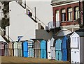 TR3967 : Beach huts, Broadstairs : Week 37