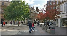 SK5804 : Gallowtree Gate in Leicester city centre by Mat Fascione
