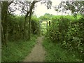 SP1667 : Heart of England Way near Hungerfield Farm by Derek Harper