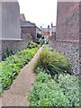 TV5999 : Alleyway from Gore Park Road to St. Mary's Road, Eastbourne by PAUL FARMER