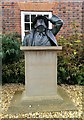 SU3987 : Statue of Sir John Betjeman, Vale and Downland Museum, Wantage by Brian Robert Marshall