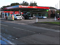 ST1775 : Texaco filling station, Sloper Road, Cardiff by Jaggery