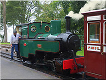 SS6846 : Steam engine on the Lynton and Barnstaple Railway at Woody Bay Station by Gary Rogers