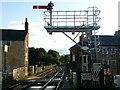 SE3457 : Starting signal, Knaresborough Station by Alan Murray-Rust