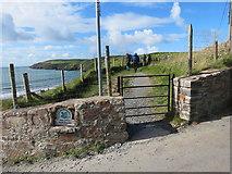 SH1726 : Llwybr Arfordir Cymru / Wales Coastal Path by Alan Richards