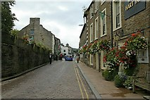 SD8789 : Main Street, Hawes by Alan Murray-Rust