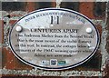 NT3597 : Plaque on Anderson Shelter, Buckhaven by Bill Kasman