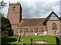 SJ4905 : The church of St Mary and St Andrew, Condover by Richard Law