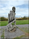 TR0862 : Sculpture of Nelson, Victory Wood by pam fray