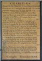 TF2258 : Charities board, St Michael's church, Coningsby by Julian P Guffogg
