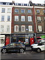 TQ2880 : 25 Brook Street, with Blue Plaque stating that George Frideric Handel lived and Died here by PAUL FARMER
