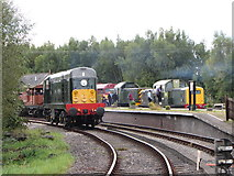 SO6302 : Dean Forest Railway at Lydney Junction by Gareth James