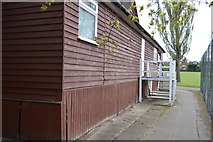 TQ2688 : Pavilion, Lyttleton Playing Fields by N Chadwick