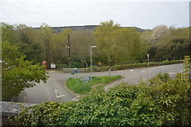 SX3657 : Road junction, St German by N Chadwick