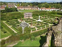 SP2772 : The Elizabethan Garden, Kenilworth Castle by Philip Halling