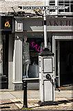 TQ1649 : Pump and signpost, Pump Corner by Ian Capper
