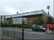 TG2407 : Barclay Stand, Carrow Road Football Stadium  by JThomas