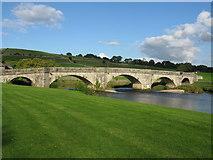 SE0361 : Burnsall Bridge, Burnsall by G Laird