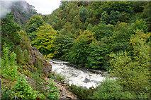 SH5946 : The Pass of Aberglaslyn by Bill Boaden