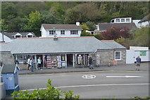 SX2051 : Shop, Polperro car park by N Chadwick