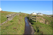NW9954 : Southern Upland Way at Portpatrick by Billy McCrorie