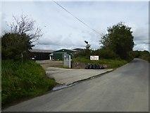 SX5596 : The Grange Equestrian Centre, Northlew Road by David Smith