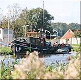 """TG3504 : The Dutch tug """"Albatros"""" by Evelyn Simak"""