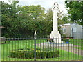 TL1234 : War memorial, Shillington by Humphrey Bolton