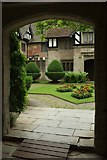 SP1971 : Courtyard, Baddesley Clinton House by Derek Harper