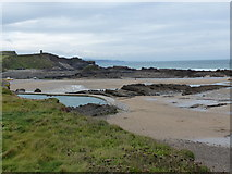 SS2006 : Bude pool, seen from the coast path by Rob Purvis