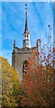 TF8208 : Tower and spire, Church of St Peter & Paul, Swaffham by Julian Osley