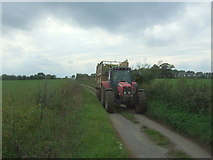 TM4592 : A lane full of tractor by JThomas