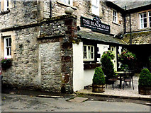 NY7204 : The Black Swan Hotel, Ravenstonedale by Norman Caesar