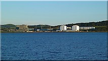 NS1851 : Hunterston Power Station View by Mary and Angus Hogg