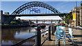 NZ2563 : Newcastle Quayside and bridges : Week 38