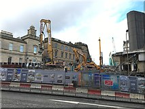 NT2574 : Demolition of St James Centre by Jennifer Petrie