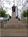 SJ8498 : Monument to Robert Peel by Gerald England