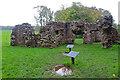 SD0895 : Roman bath house - Ravenglass by Chris Allen