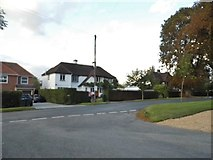 TQ0893 : Wolsey Road at the junction of Sandy Lodge Lane by David Howard