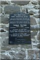 SH7877 : Commemorative plaque for Thomas Telford by Richard Hoare