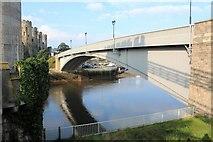 SH7877 : A547 road bridge by Richard Hoare