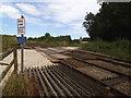 TA1061 : Harpman level crossing by Stephen Craven