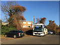 SP2864 : St Nicholas Park car park, Warwick by Robin Stott