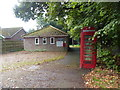 TG0106 : Reymerston: phone box by the village hall by Basher Eyre