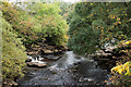 NY8901 : Confluence of East Gill with River Swale by Trevor Littlewood