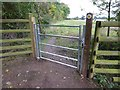 SO8845 : Footpath gate by Philip Halling