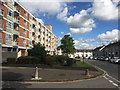 SP3682 : Flats either side of Roseberry Avenue, Bell Green, north Coventry by Robin Stott
