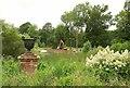 SP1772 : Garden, Packwood House by Derek Harper